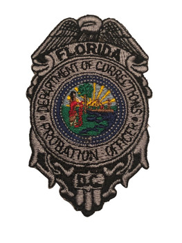 FL DEPT. OF CORRECTIONS PROBATION PATCH