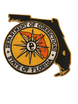 FL DEPT OF CORRECTIONS STATE SHAPE PATCH