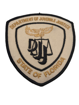 FL DEPT. OF JUVENILE JUSTICE  PATCH