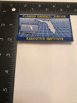 FL CRIMINAL JUSTICE EXEC INSTITUTE PATCH
