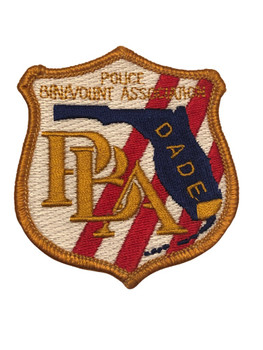 DADE CTY PBA PATCH FL