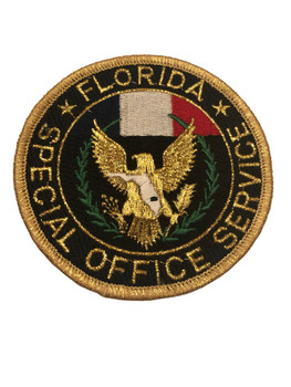 FLORIDA SPECIAL OFFICER SERVICE PATCH