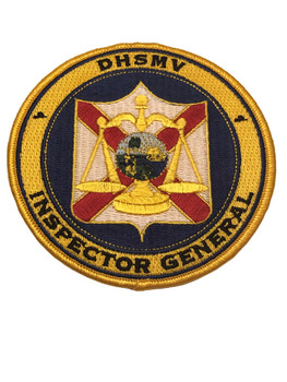 FL DHSMV INSPECTOR GENERAL PATCH