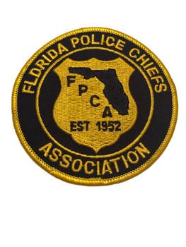 FL POLICE CHIEFS ASSOC. PATCH