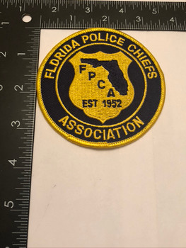 FL POLICE CHIEFS ASSOC. PATCH