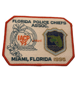 FL POLICE CHIEFS ASSOC. PATCH 1995