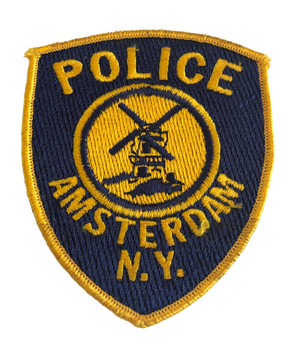 AMSTERDAM NY POLICE PATCH