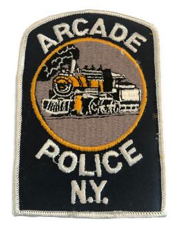 ARCADE NY POLICE PATCH
