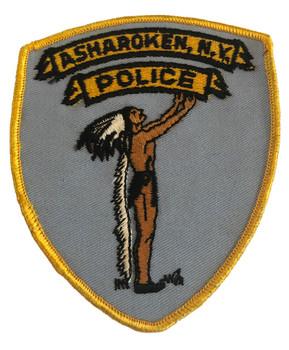 ASHAROKEN NY POLICE PATCH