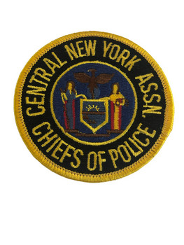 CENTRAL NY CHIEF OF POLICE ASSN PATCH