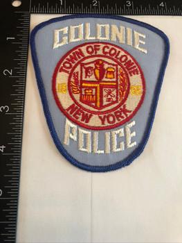 COLONIE NY POLICE PATCH