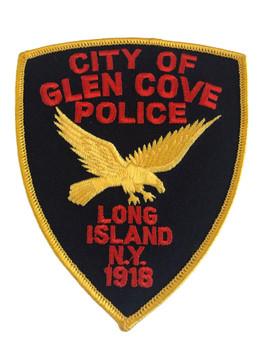 GLEN COVE NY POLICE PATCH