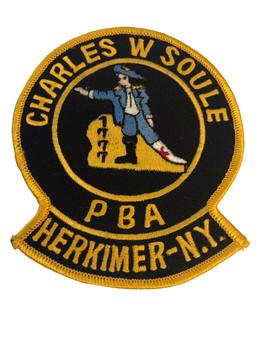 HERKIMER NY PBA POLICE PATCH