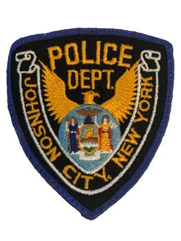 JOHNSON CITY NY POLICE PATCH