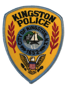 KINGSTON NY POLICE PATCH