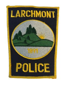 LARCHMONT NY POLICE PATCH
