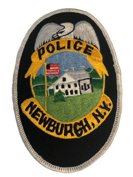 NEWBURGH NY POLICE PATCH