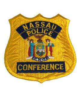 NASSAU NY POLICE CONFERENCE PATCH