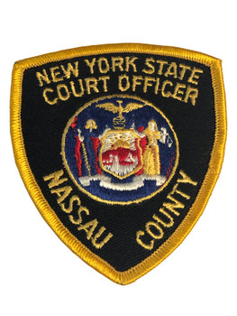 NEW YORK STATE NY COURT OFFICER POLICE PATCH