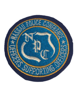 NASSAU CTY NY OFFICERS ASSN POLICE PATCH