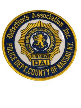 NASSAU CTY NY DETECTIVE'S ASSN POLICE PATCH