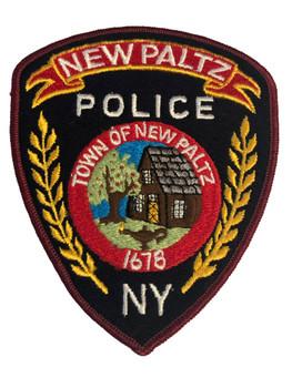 NEW PALTZ NY POLICE PATCH