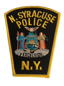 NORTH SYRACUSE NY POLICE PATCH 2