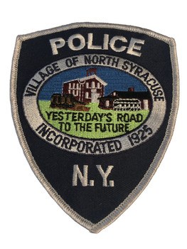 NORTH SYRACUSE NY POLICE PATCH