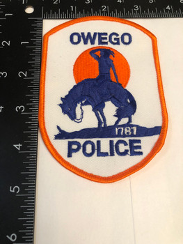 OWEGO NY POLICE PATCH