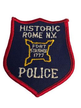 HISTORIC ROME NY POLICE PATCH