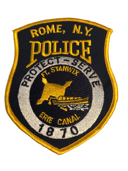 ROME NY POLICE PATCH