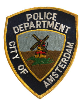 CITY OF AMSTERDAM NY POLICE PATCH