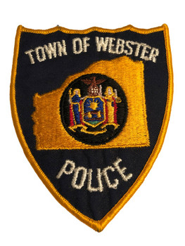 WEBSTER NY POLICE PATCH