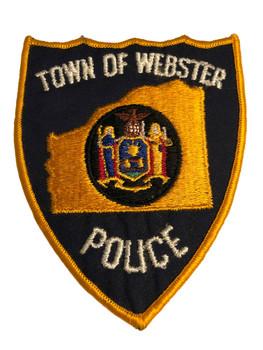 WEBSTER NY POLICE PATCH