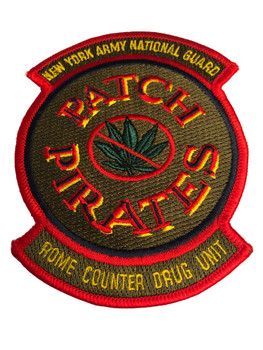 NY ARMY GUARD PIRATES POLICE PATCH