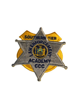 SOUTHERN TIER ACADEMY POLICE PATCH