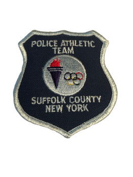 SUFFOLK CTY NY POLICE ATHLETIC TEAM PATCH