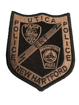 UTICA NEW HARTFORD NY ERT POLICE PATCH