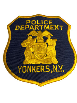 YONKERS NY POLICE PATCH
