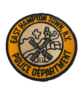 EAST HAMPTON TOWN NY POLICE PATCH