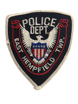 EAST HEMPFIELD NY POLICE PATCH