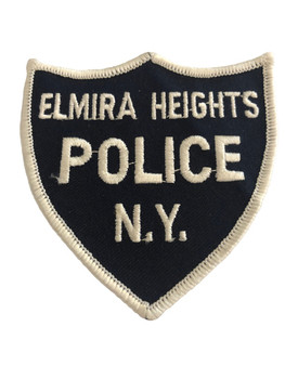 ELMIRA HEIGHTS NY POLICE PATCH