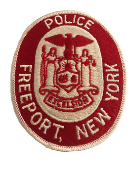 FREEPORT NY POLICE PATCH