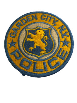 GARDEN CITY NY POLICE PATCH