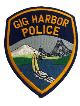 GIG HARBOR NY POLICE PATCH