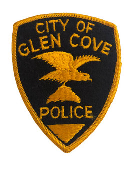 CITY OF GLEN COVE NY POLICE PATCH