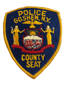 GOSHEN NY POLICE COUNTY SEAT PATCH
