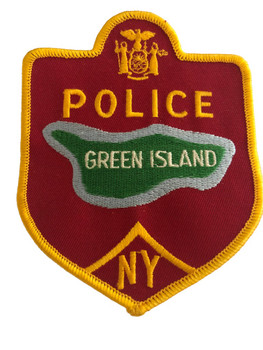 GREEN ISLAND NY POLICE PATCH 1