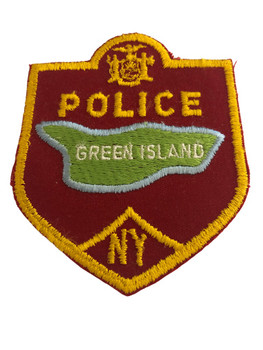 GREEN ISLAND NY POLICE PATCH 2