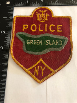 GREEN ISLAND NY POLICE PATCH 3